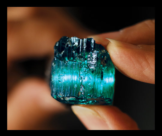 eureka blue tourmaline