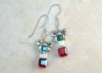 Christmas Swarovski Crystal Gift Earrings