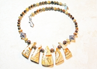 Picture Jasper Handmade Necklace