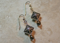 Bronzite Handmade Earrings