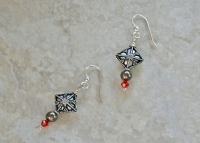 Bali Sterling Swarovski Earrings