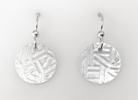 Sterling Abstract Earrings